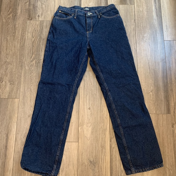 Cabelas Fleece Lined Insulated Womans Jeans 10